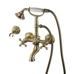 Смеситель для ванны и душа Devit Charlestone бронза CN60012119B