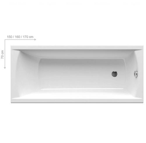 Ванна Ravak Classic 1700*700 мм (C541000000)