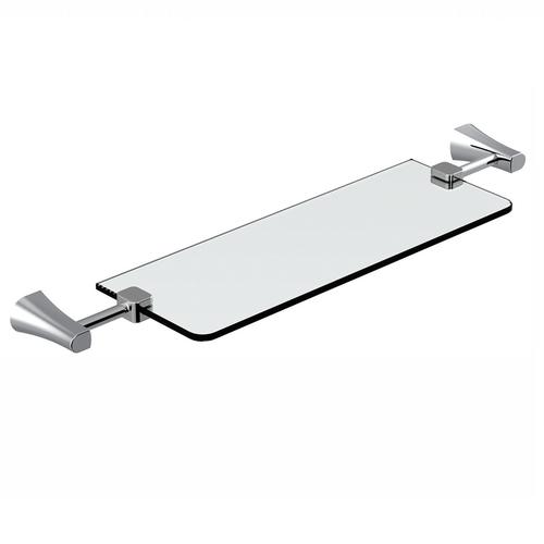 Полочка стеклянная Imprese Cuthna 160280 stribro stribro