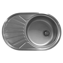 Кухонная мойка Teka DR 77 1B 1D, матовая (40127301)