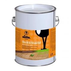 Масло для террасной доски Loba Deck&Teak Oil