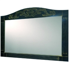 Зеркало Devit Sheffield, черный 1000 мм