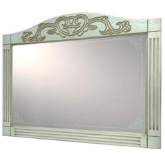 Зеркало Devit Sheffield, белый 1300 мм