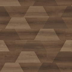 Виниловая плитка Egger Pro Design+ Classic 7.5/33 Орех Бедолло креатив EPD037