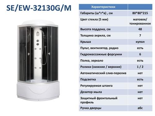 Гидромассажный бокс Serena  EW-32130G