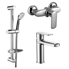 Набор смесителей для ванны Volle Fiesta (15151100+15153100 +15146100)