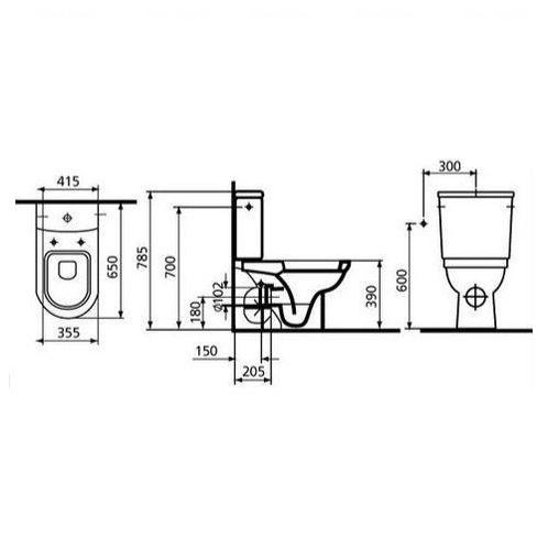 Унитаз Koller Pool Form 300 (5426N003-1305)