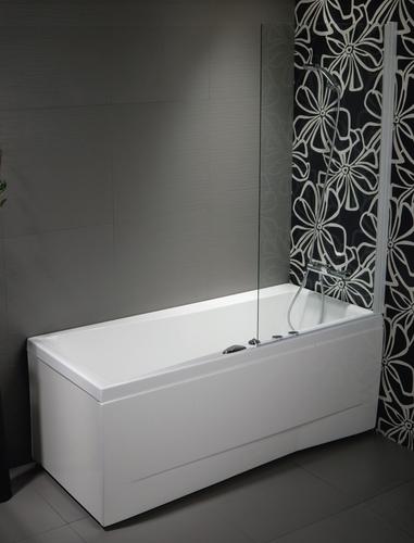 Душевaя шторка VS1 для прямоугольной ванны Balteco T1 прозрачное стекло T1 прозрачное стекло