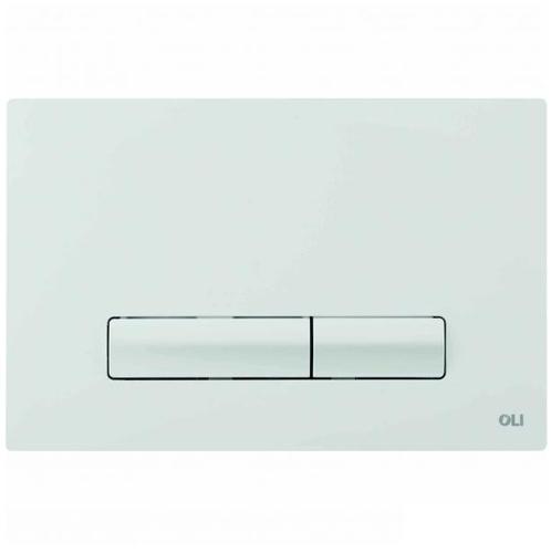Кнопка слива OLI Glam Olipure белая белая