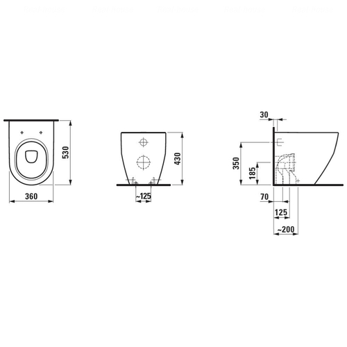 Унитаз Laufen Pro (H8229520000001)