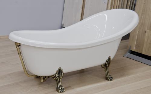 Ванна Fancy Marble Lady Hamilton 173 белая ванна + белый ножки белая ванна + белый ножки