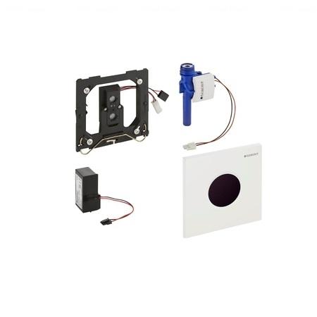 Кнопка смыва для писсуаров Geberit HyTronic Sigma 01, 230В белая белая