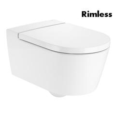 Унитаз подвесной Roca Inspira Round Rimless (A346527000)