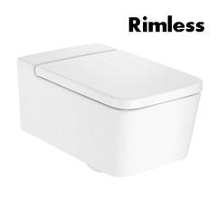 Унитаз подвесной Roca Inspira Square Rimless (A346537000)