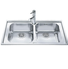 Кухонная мойка Smeg Linea LE862-2