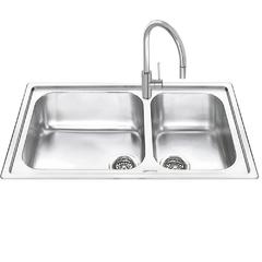 Кухонная мойка Smeg Alba LG862-2