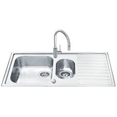 Кухонная мойка Smeg Alba LLR102