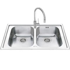 Кухонная мойка Smeg Alba LM862