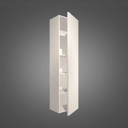 Пенал Fancy Marble Long Step Comfor LSC (ПLSC) 40 см белый глянец белый глянец
