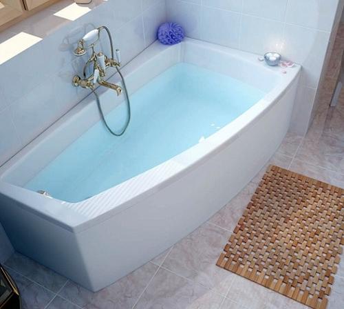 Ванна асимметричная Cersanit LORENA 150x90 левая левая