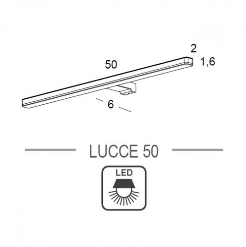 LED-подсветка Royo Lucce 50