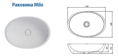 Рaкoвинa Balteco Milo белая белая