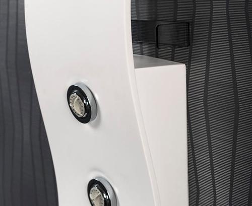 Душевaя панель со смесителем Balteco Mio цветная белая белая