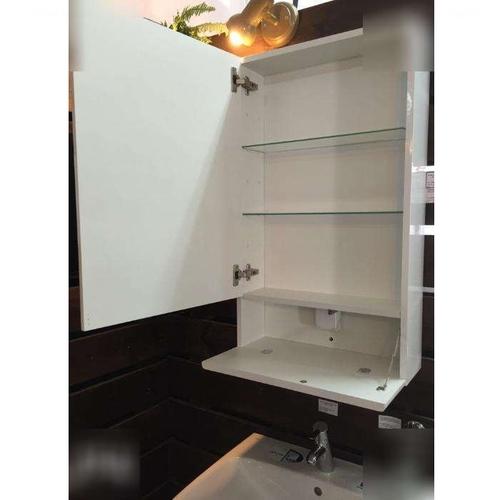 Шкафчик зеркальный Kolo Nova Pro 55 серый ясень серый ясень