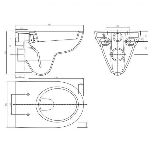 Унитаз подвесной Kolo Nova Pro (M33100000)