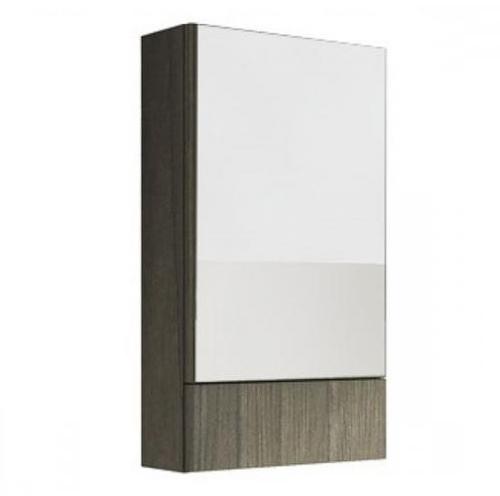 Шкафчик подвесной зеркальный Kolo Nova Pro 50 серый ясень серый ясень