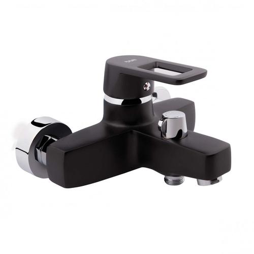 Смеситель для ванны и душа Potato P3030 черный черный