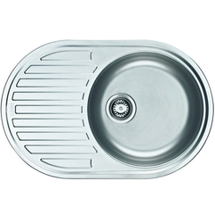 Кухонная мойка Franke Pamira PMN 611i, сталь матовая (101.0255.790)