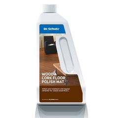 Полироль для паркета матовый Dr.Sсhutz Wood & Cork Floor Polish Mat