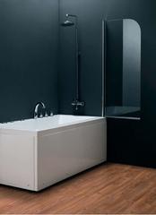 Душевая штора для ванны Koller Pool QP93, Grape/Transporent