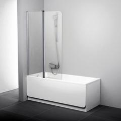 Штора для ванны CVS2 Ravak, профиль сатин