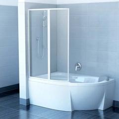 Штора для ванны Ravak Rosa VSK2 Transparent 1400 мм