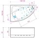 Ванна Balteco Rhea 1500 мм простая (S1) простая (S1)