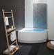 Душевaя стенкa для ванн Balteco Rhea 1500 мм 1500 мм