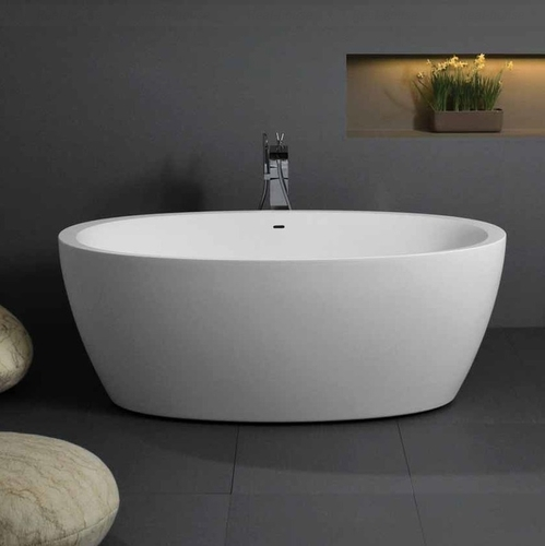 Ванна Balteco Senzo 1780 мм белая белая