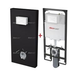 Система инсталляции Alca plast Slim Modul M1204 (черная)