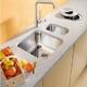 Кухонная мойка подстольная Blanco Supra 400-U корзинчатый вентиль корзинчатый вентиль