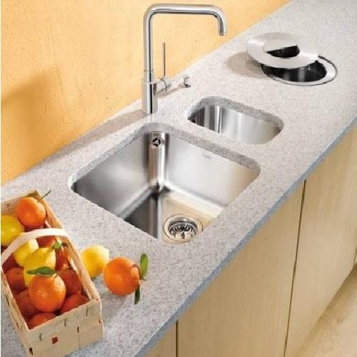 Кухонная мойка подстольная Blanco Supra 450-U корзинчатый вентиль корзинчатый вентиль
