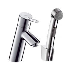 Смеситель для раковины + гигиенический душ Hansgrohe Talis S2