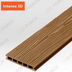 Террасная доска Porch Intense Teak 3D 3000х150х24 мм