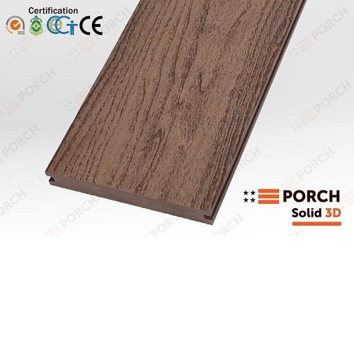 Террасная доска Porch Solid Teak 3D 2200х140х18 мм