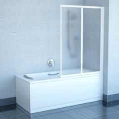 Штора для ванны Ravak VS2 105, профиль белый