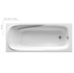Ванна Ravak Vanda II 170x70 см (CP21000000)
