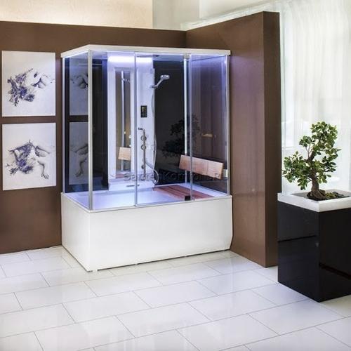 Душевая кабина+паровая баня+массажная ванна Balteco Vario S4