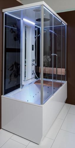Душевая кабина+паровая баня+ванна Balteco Vario S1