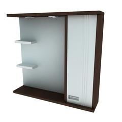 Зеркальный шкафчик Леос Victoria Z2-80, венге